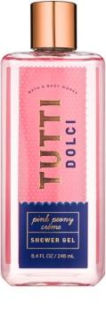 Bath & Body Works Tutti Dolci Pink Peony Créme sprchový gel pro ženy 248 ml