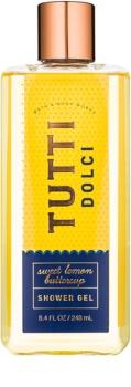Bath & Body Works Tutti Dolci Sweet Lemon Buttercup Douchegel  voor Vrouwen  248 ml