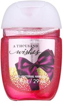 Bath & Body Works PocketBac A Thousand Wishes gel antibacterian de maini