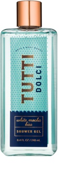 Bath & Body Works Tutti Dolci White Mocha Kiss sprchový gel pro ženy 248 ml