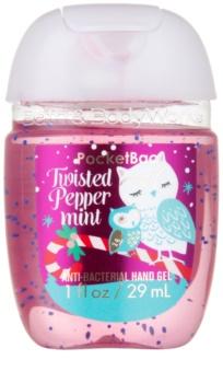 Bath & Body Works PocketBac Twisted Peppermint antibakterielles Gel für die Hände