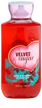 Bath & Body Works Velvet Sugar Douchegel voor Vrouwen  295 ml