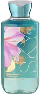 Bath & Body Works Violet Lily Sky sprchový gel pro ženy 295 ml