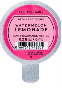Bath & Body Works Watermelon Lemonade ambientador auto 6 ml recarga de substituição