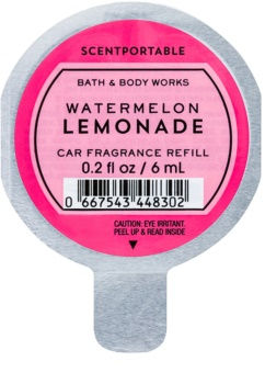 Bath & Body Works Watermelon Lemonade deodorante per auto 6 ml ricarica