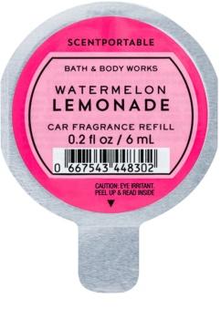 Bath & Body Works Watermelon Lemonade odświeżacz do samochodu 6 ml napełnienie