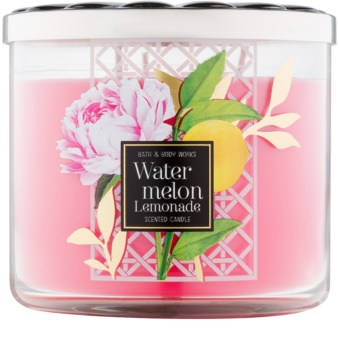 Bath & Body Works Watermelon Lemonade vonná svíčka 411 g