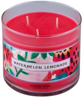 Bath & Body Works Watermelon Lemonade Geurkaars 411 gr I.