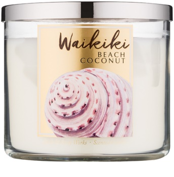 Bath & Body Works Waikiki Beach Coconut lumanari parfumate  411 g