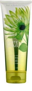 Bath & Body Works White Citrus telový krém pre ženy 236 ml