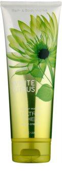 Bath & Body Works White Citrus tělový krém pro ženy 236 ml