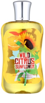 Bath & Body Works Wild Citrus Sunflower Duschgel für Damen 295 ml