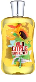 Bath & Body Works Wild Citrus Sunflower sprchový gel pro ženy 295 ml