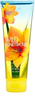 Bath & Body Works Wild Honeysuckle telový krém pre ženy 226 g s bambuckým maslom