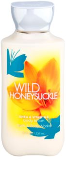 Bath & Body Works Wild Honeysuckle leite corporal para mulheres 236 ml