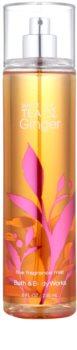 Bath & Body Works White Tea & Ginger spray corporal para mulheres 236 ml