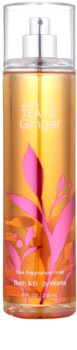Bath & Body Works White Tea & Ginger testápoló spray nőknek 236 ml