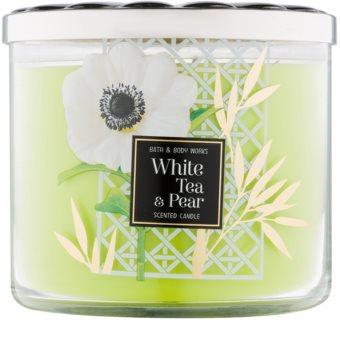 Bath & Body Works White Tea & Pear Geurkaars 411 gr