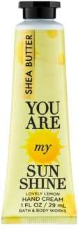 Bath & Body Works You Are My Sunshine creme de mãos