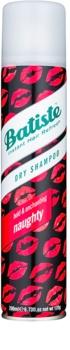 Batiste Naughty Droog Shampoo voor Absorbatie van Overtollig Vetaanmaak en voor Fris Haar