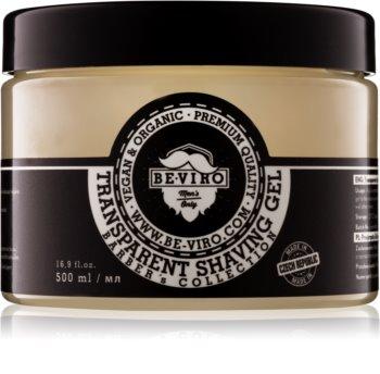 Be-Viro Men's Only Shaving Transparante Gel  voor het Scheren