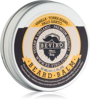 Be-Viro Men's Only Vanilla, Tonka Beans, Palo Santo balsamo per barba