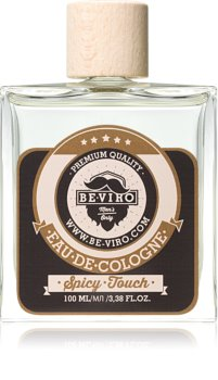 Be-Viro Men's Only Spicy Touch Eau de Cologne for Men