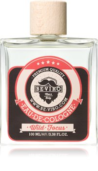 Be-Viro Men's Only Wild Focus Eau de Cologne voor Mannen