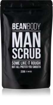 Bean Body Man Gladmakende Body Scrub  voor Mannen