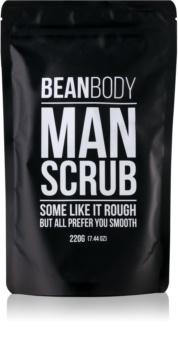 Bean Body Man zaglađujući piling za tijelo za muškarce