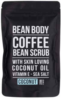 Bean Body Coconut exfoliant de corp pentru matifiere