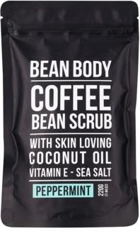 Bean Body Peppermint esfoliante corporal de alisamento