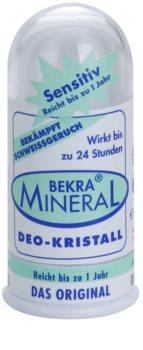 Bekra Mineral Deodorant Stick Crystal desodorante mineral cristal sólido  con aloe vera