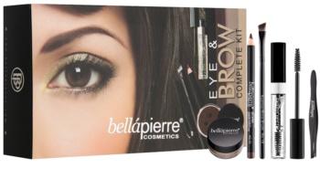BelláPierre Eye and Brow Complete Kit kosmetická sada I.