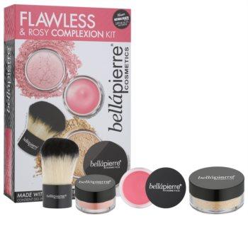 BelláPierre Flawless & Rosy Complexion Kit kozmetika szett II.
