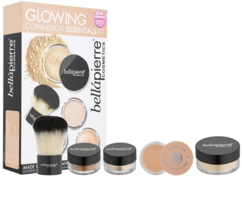 BelláPierre Glowing Complexion Essentials Kit kozmetická sada I.