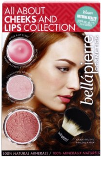 BelláPierre All About Cheeks and Lips Collection Pink Collection kosmetická sada I.