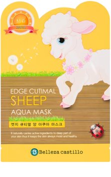 Belleza Castillo Edge Cutimal Sheep maschera idratante viso