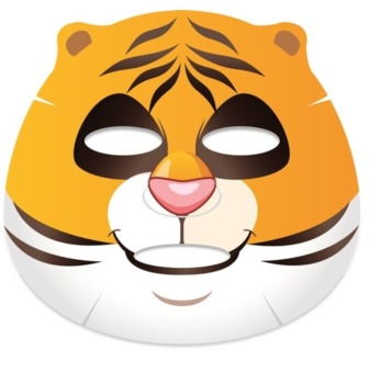 Belleza Castillo Edge Cutimal Tiger maschera lisciante antirughe e attivante