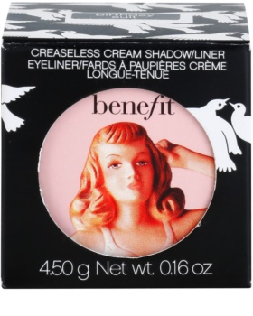 Benefit Creaseless ombretti ed eyeliner in crema 2 in 1