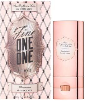 Benefit Fine One One brillant lèvres et joues 2 en 1