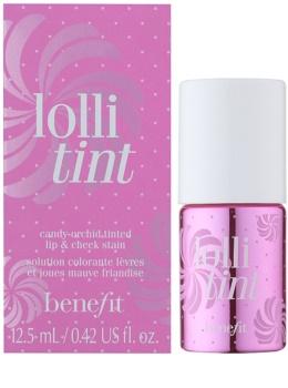 Benefit Lolli Tint tekutá tvářenka a lesk na rty 2 v 1