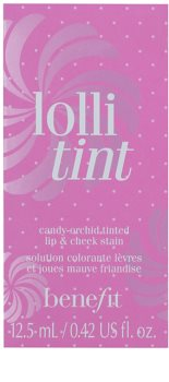 Benefit Lolli Tint blush lichid și luciu de buze 2 in 1