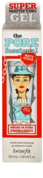 Benefit The POREfessional Invisible Mattifying Gel To shine and expanded pores