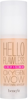 Benefit Hello Flawless Oxygen Wow make up lichid  SPF 25
