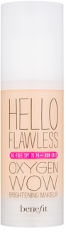 Benefit Hello Flawless Oxygen Wow tekutý make-up SPF 25