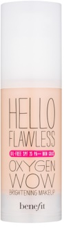 Benefit Hello Flawless Oxygen Wow тональний крем  SPF 25