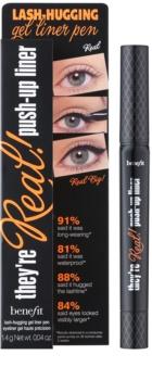 Benefit They're Real! Lash-Hugging wodoodporny eyeliner w piórze