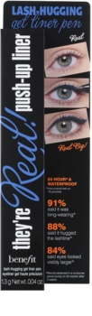 Benefit They're Real! Lash-Hugging eyeliner waterproof in pennarello