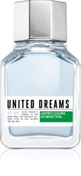 Benetton United Dream Go Far eau de toilette férfiaknak 100 ml